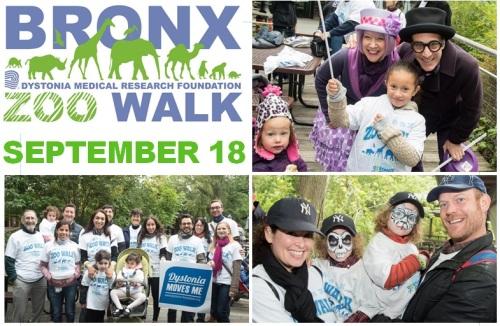 2016 Bronx Zoo Walk Postcard Image